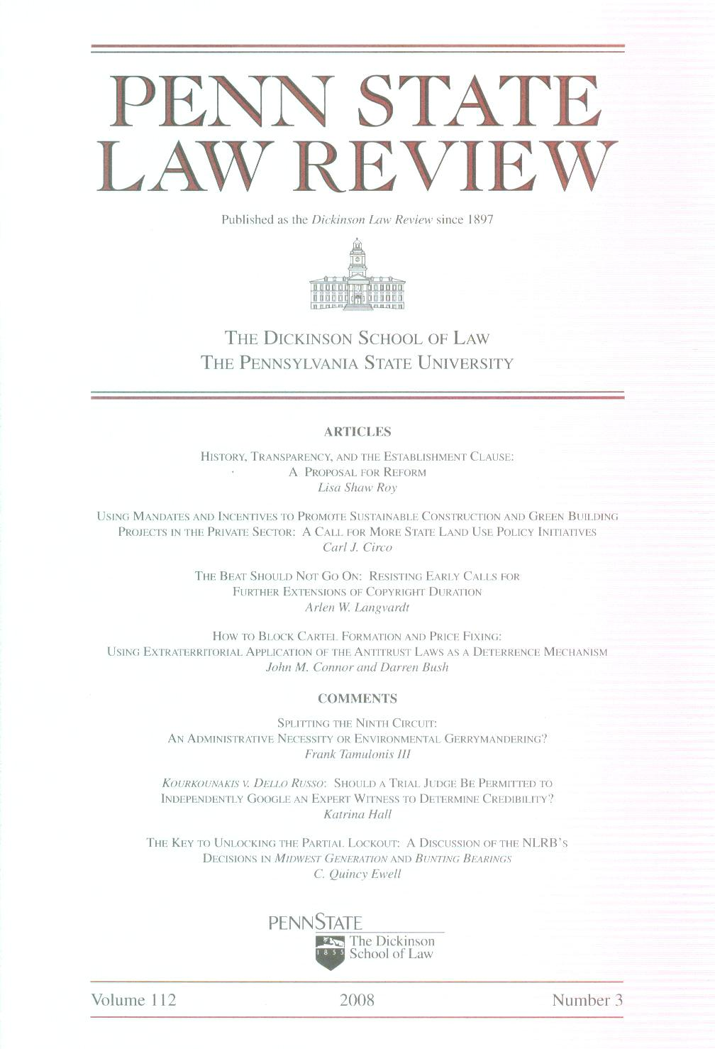 Law and Politics Book Review