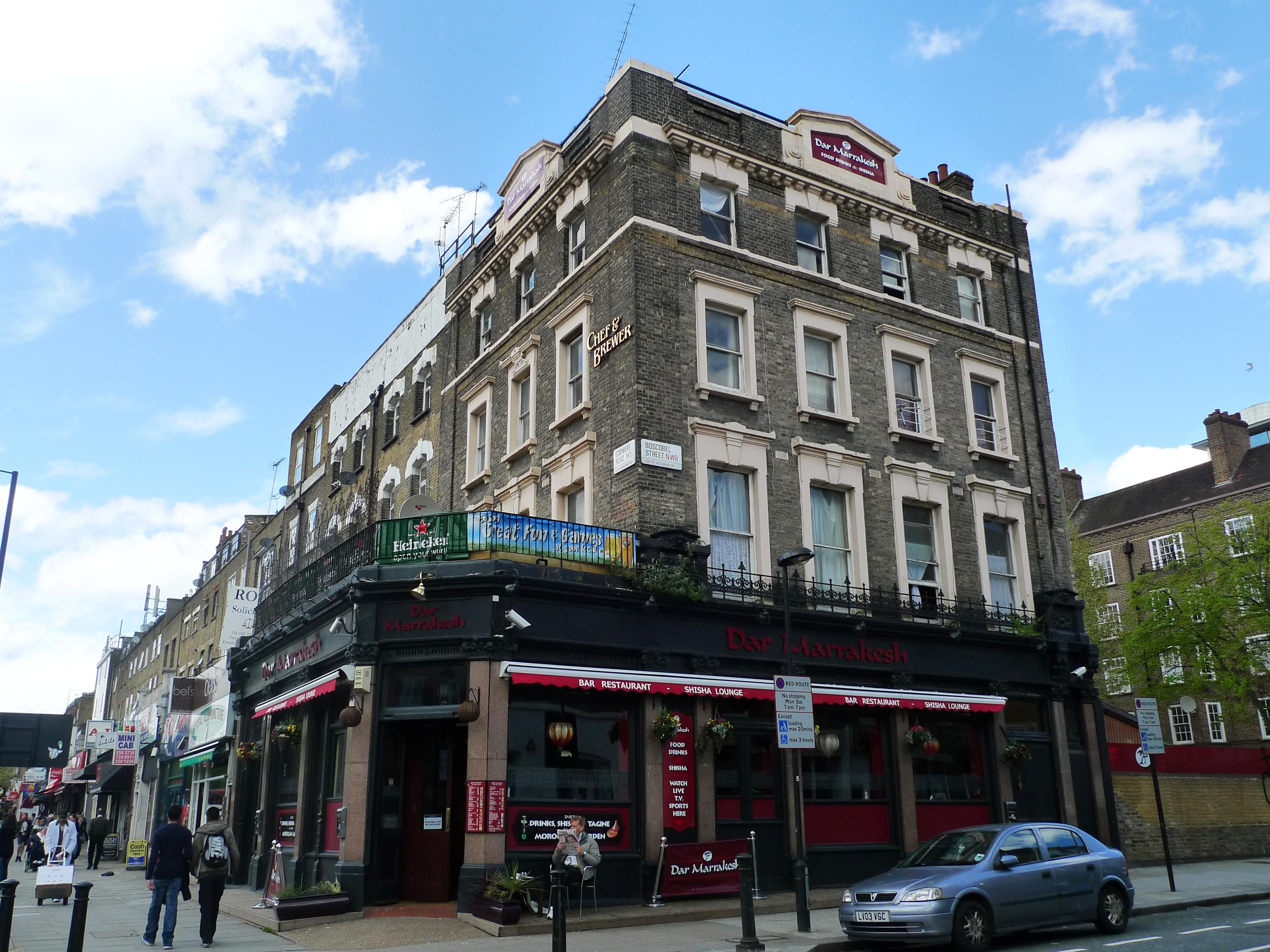 Moroccan Restaurant Edgware Road London