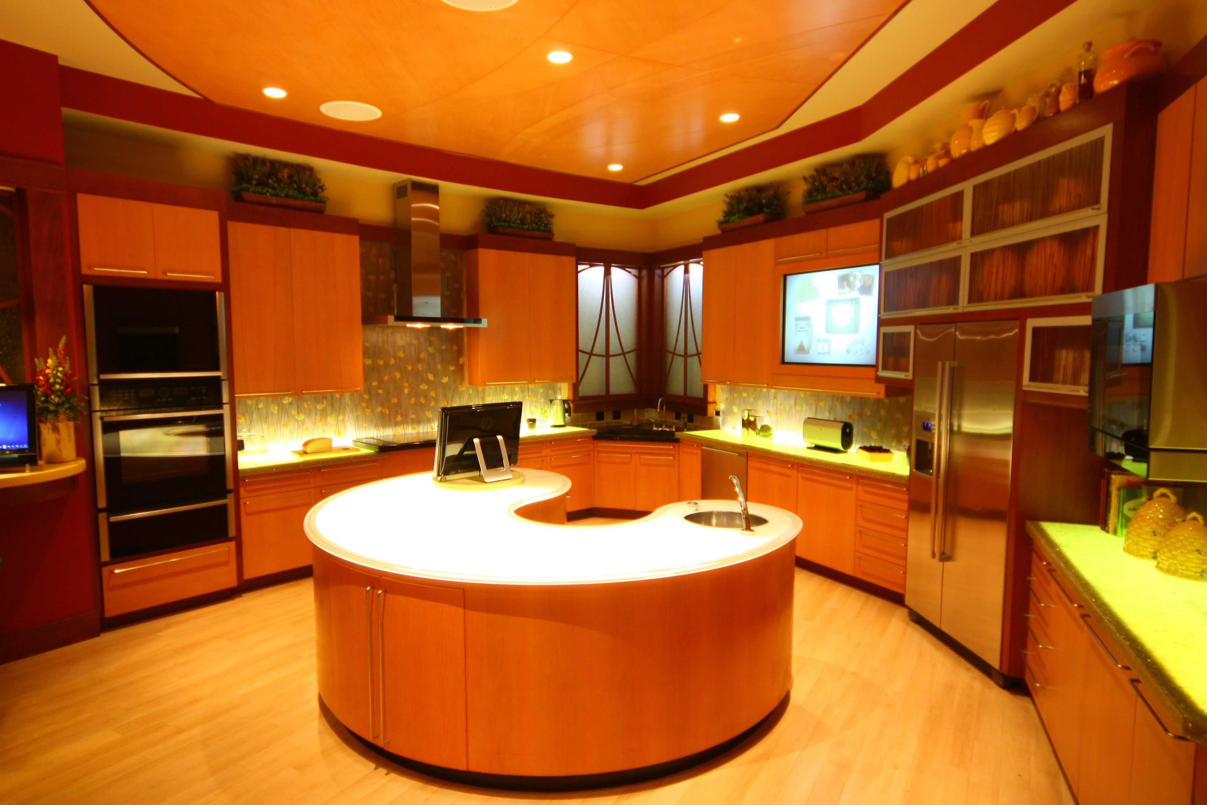 Orange Kitchen Filedlp Innoventions Kitchenjpg Wikimedia Commons