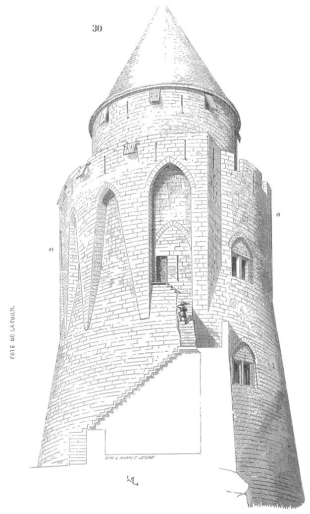 Donjon wiktionnaire for Etymologie architecture