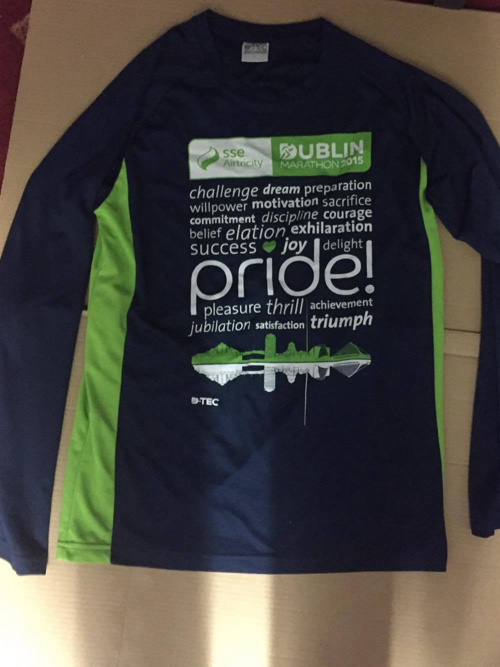Design your own t shirt dublin - File Dublin Marathon 2015 Race T Shirt Png
