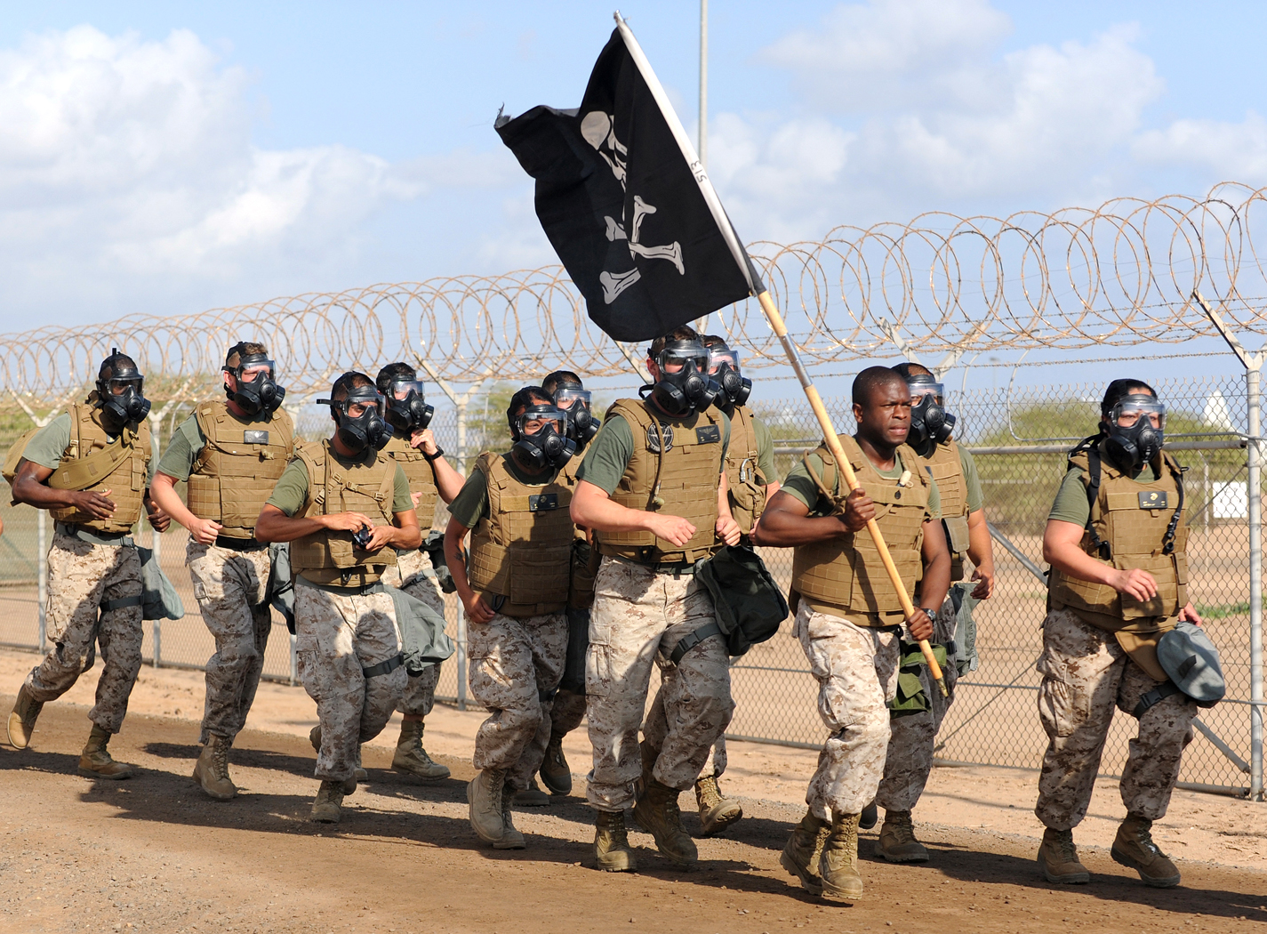File:EOD Memorial Run, Camp Lemmonier, Djibouti, April ...