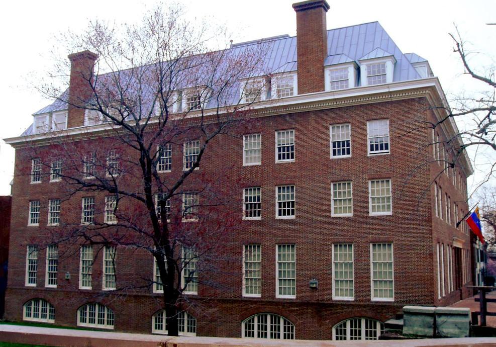 Embassy of Venezuela, Washington, D C  - Wikipedia