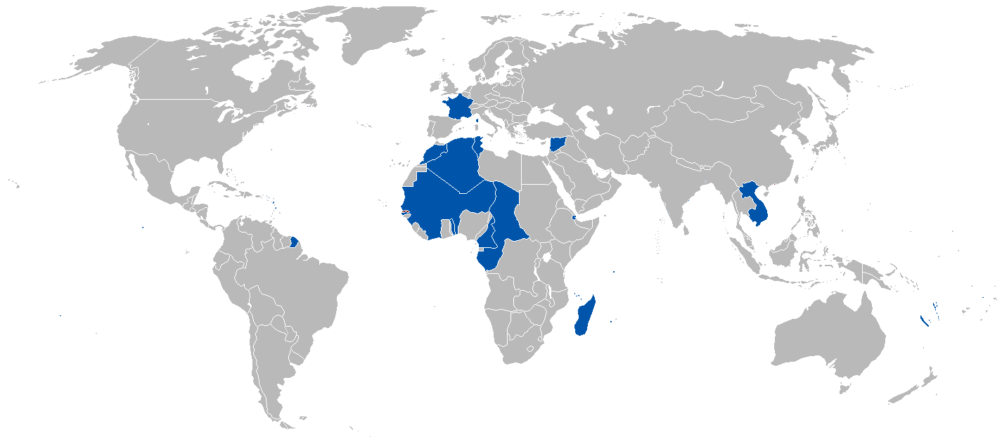 L'empire Colonial Français en 1920