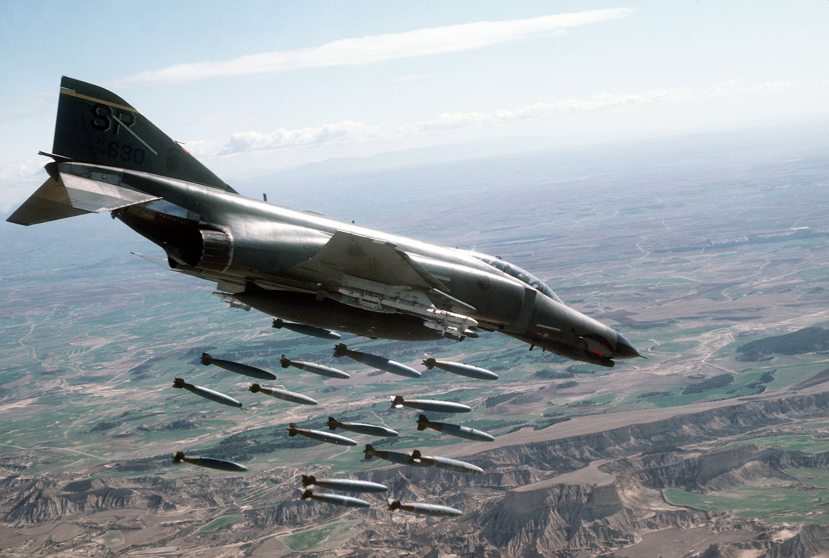 Depiction of McDonnell Douglas F-4 Phantom II
