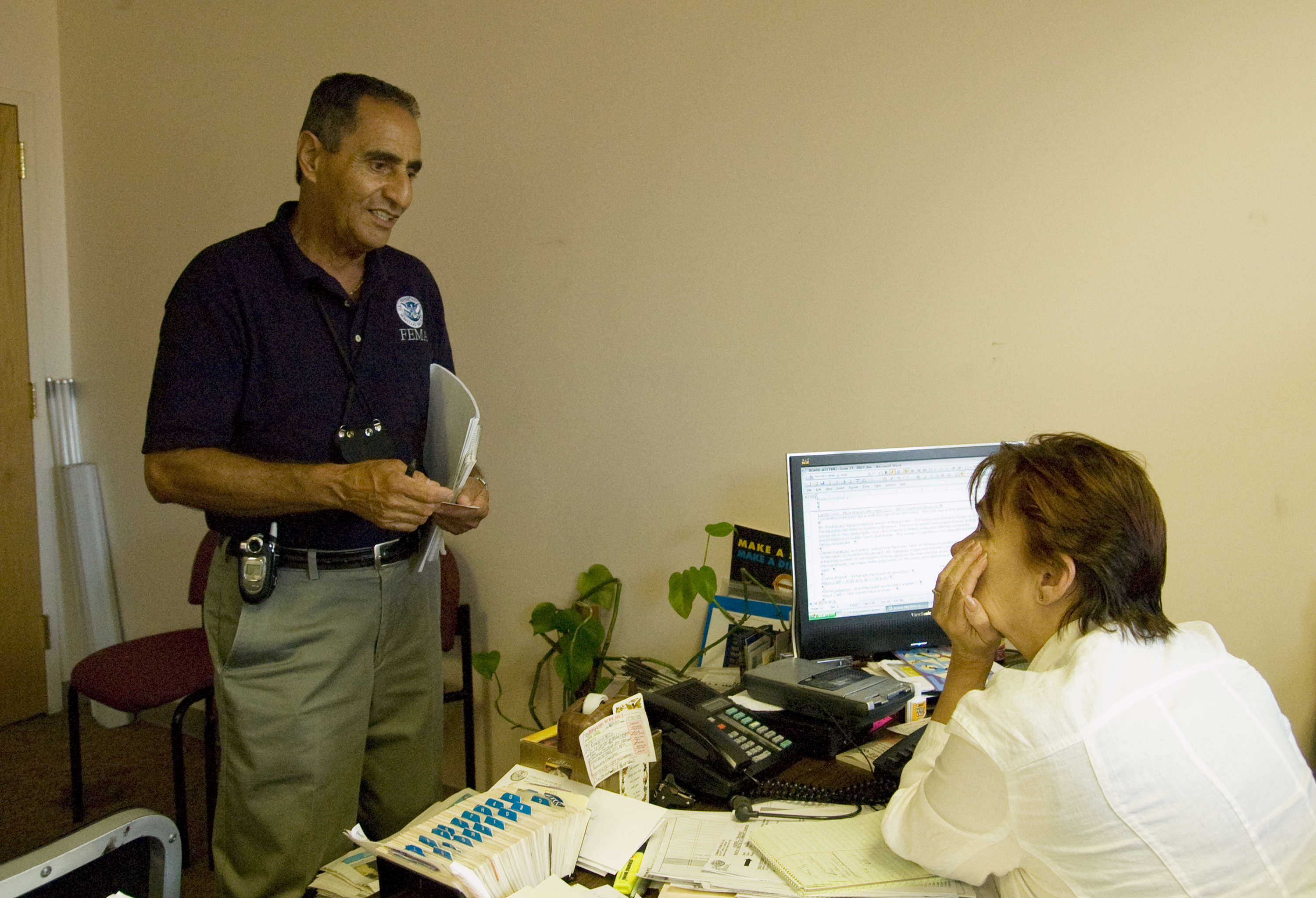 Director Of Family Health Services. FEMA DR1724 Queens Flooding. Image  Source