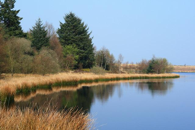 Fannyside Loch, Cumbernauld - geograph.org.uk - 1288576