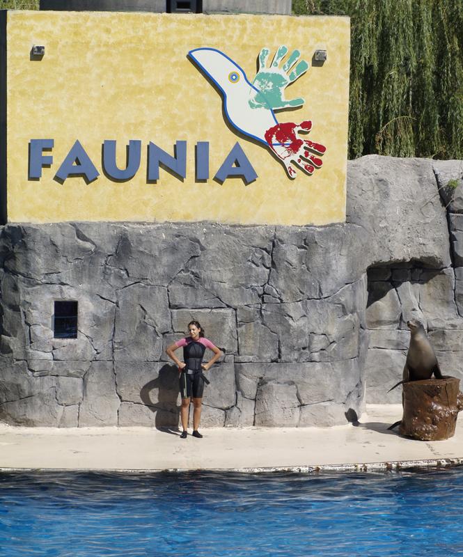 Parque de Faunia en Madrid