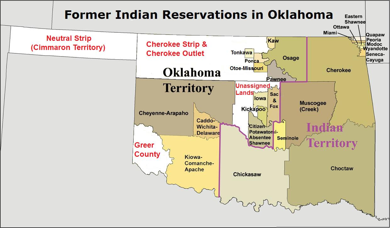 Alfa Img  Showing Gt Indian Reservations In Oklahoma Today