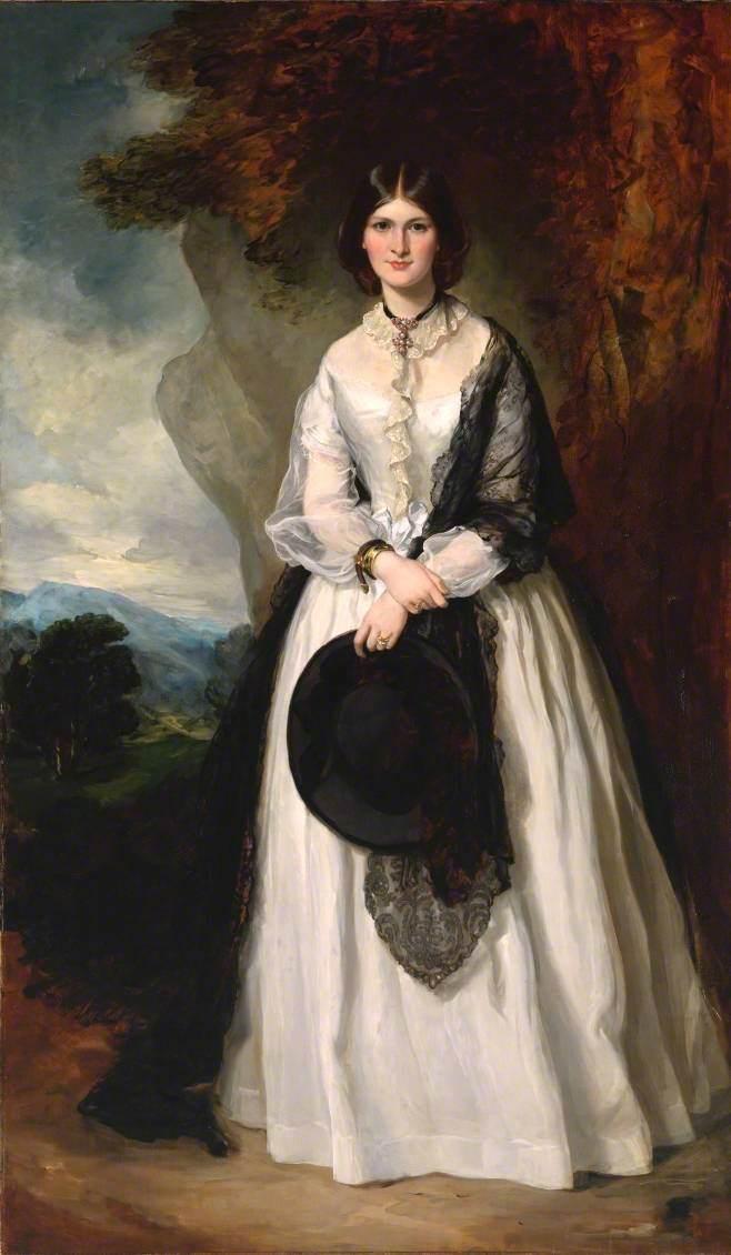 Francis Grant (1803-1878) - Portrait of a Lady (^ Mrs Edmund Peel) - T06456 - Tate.jpg
