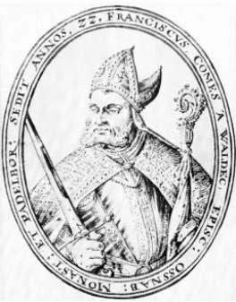 Franz, Münster, Bischof