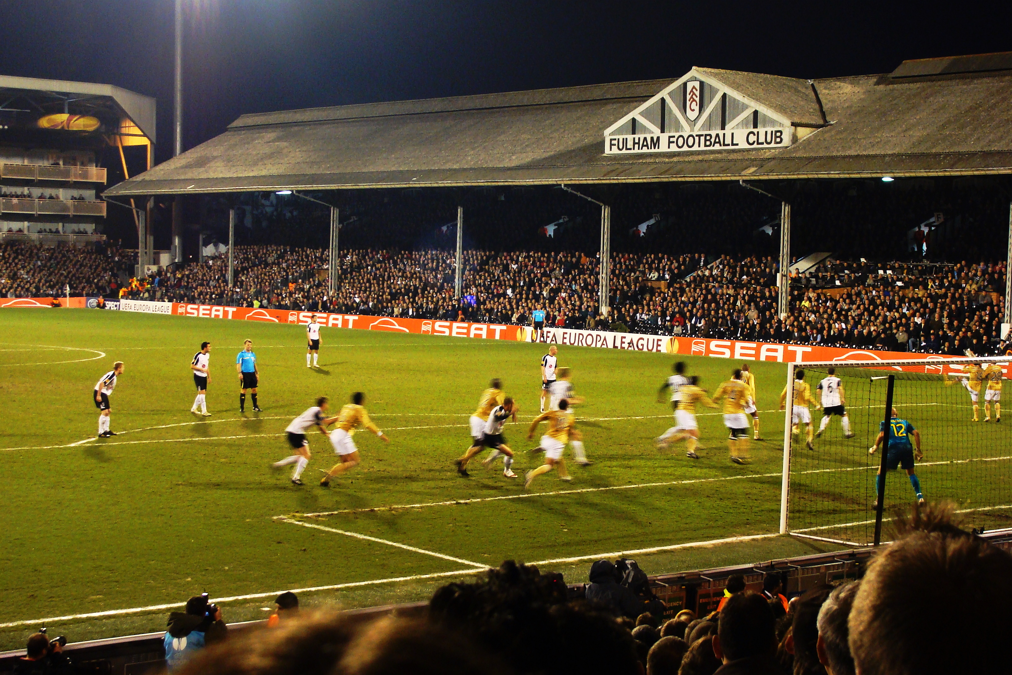 Fulham F C News: File:Fulham FC Vs Juventus FC, Europa League, 18 March