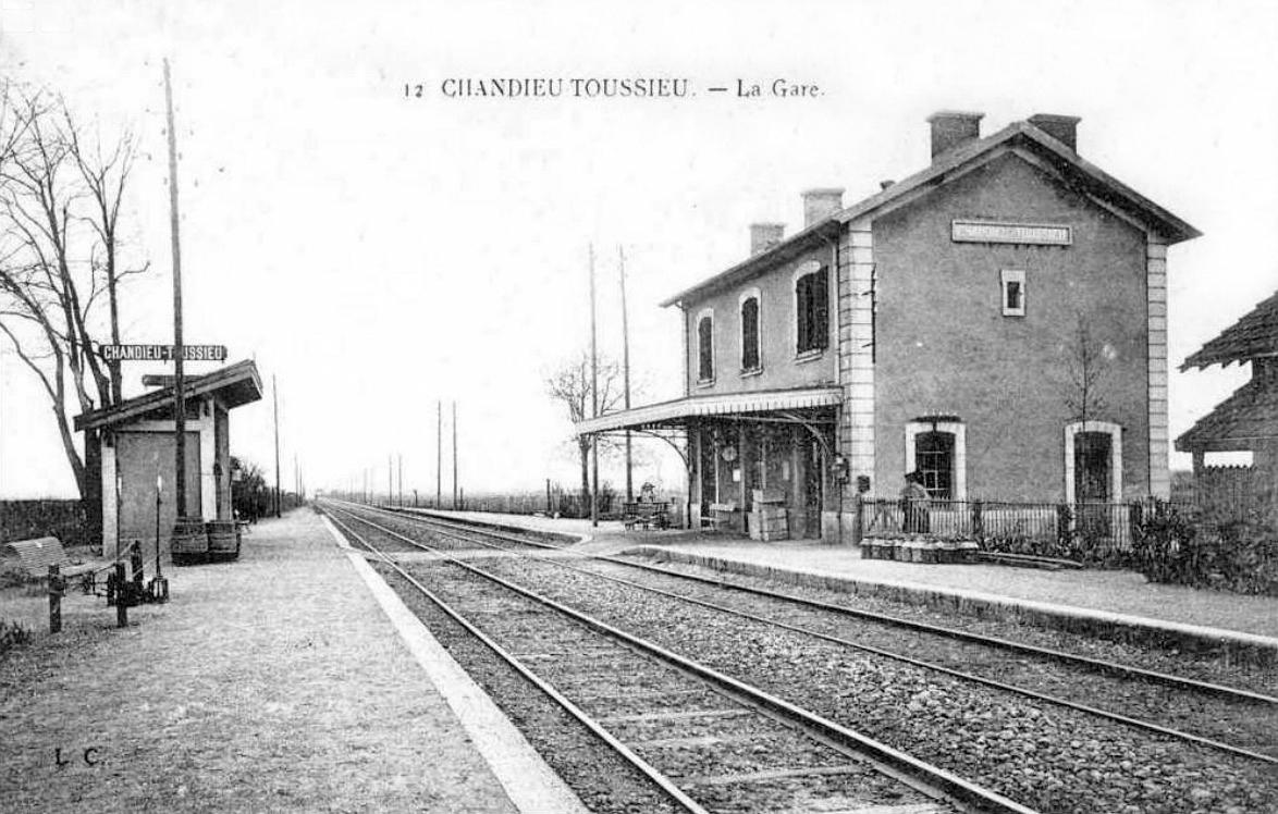 Gare De Chandieu Toussieu Wikip Dia