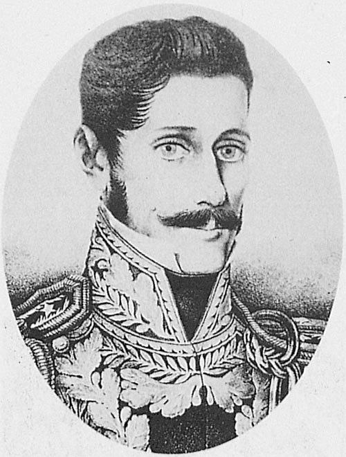 Manuel Oribe, leader of Blancos