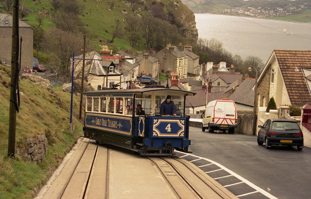 File:Great Orme Tramway, Llandudno - lower section - geograph.org.uk - 132984.jpg