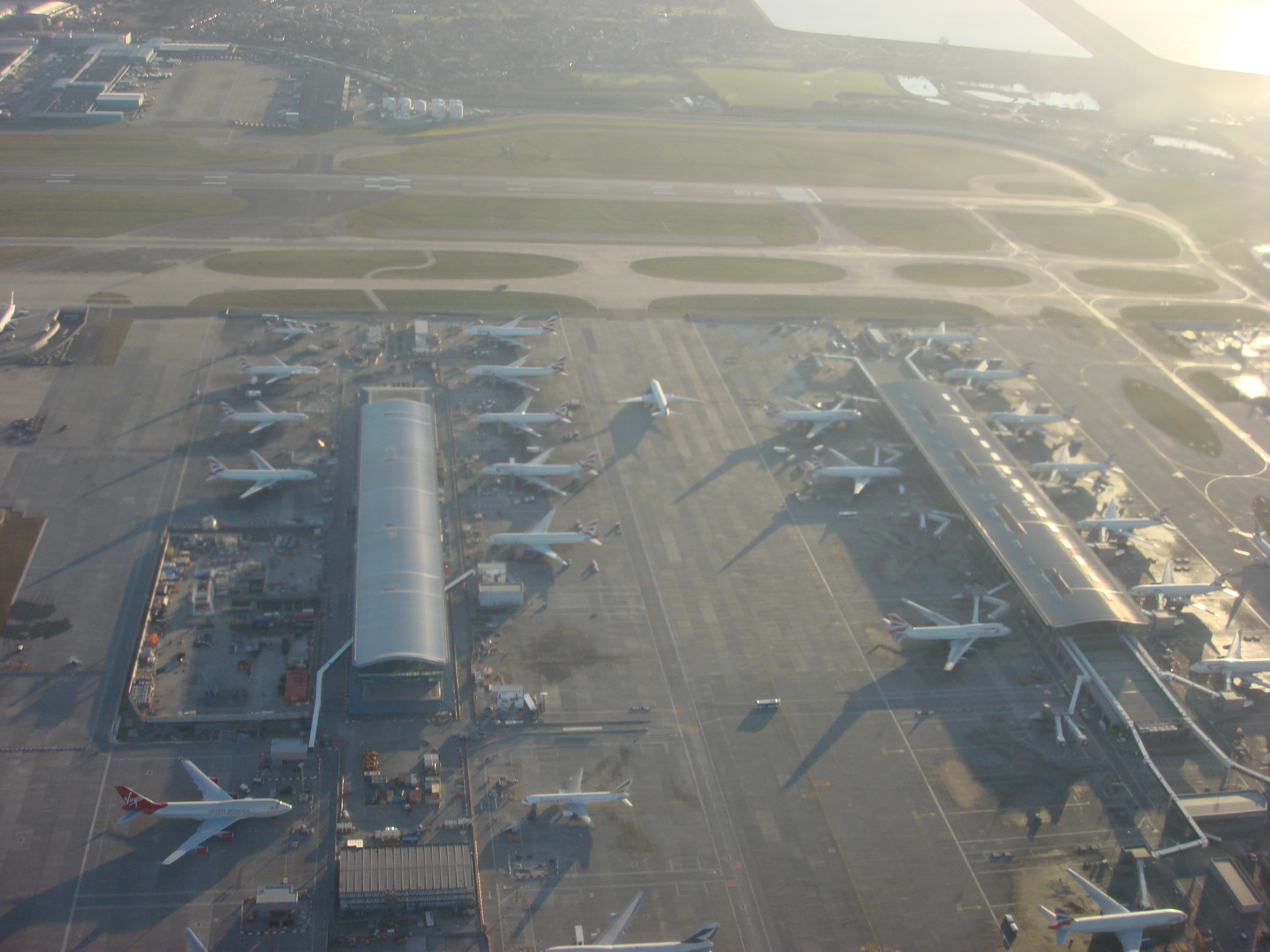 military presence at heathrow airport essay Rogers stirk harbour + partners won the competition for terminal 5 (t5) at heathrow airport in 1989 the terminal became operational in march 2008, after being officially opened by queen elizabeth ii.