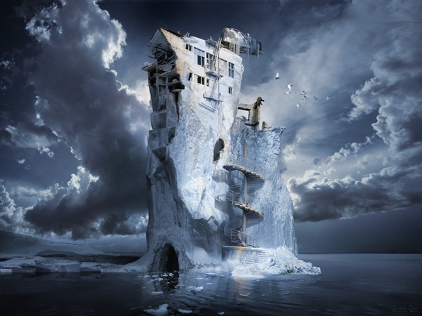 Iceberg Ice Age by George Grie
