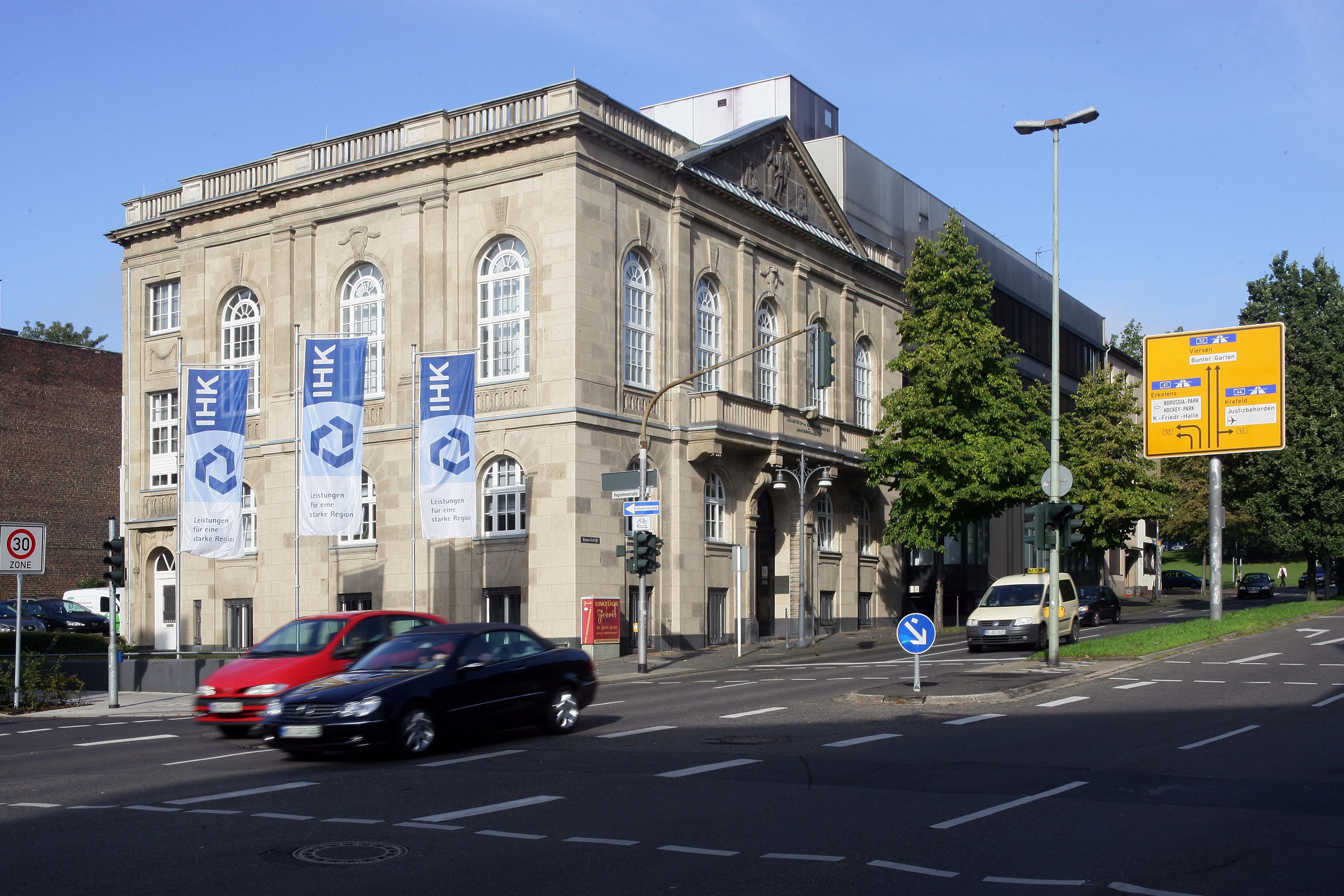 Bismarckstraße Mönchengladbach file ihk moenchengladbach jpg wikimedia commons