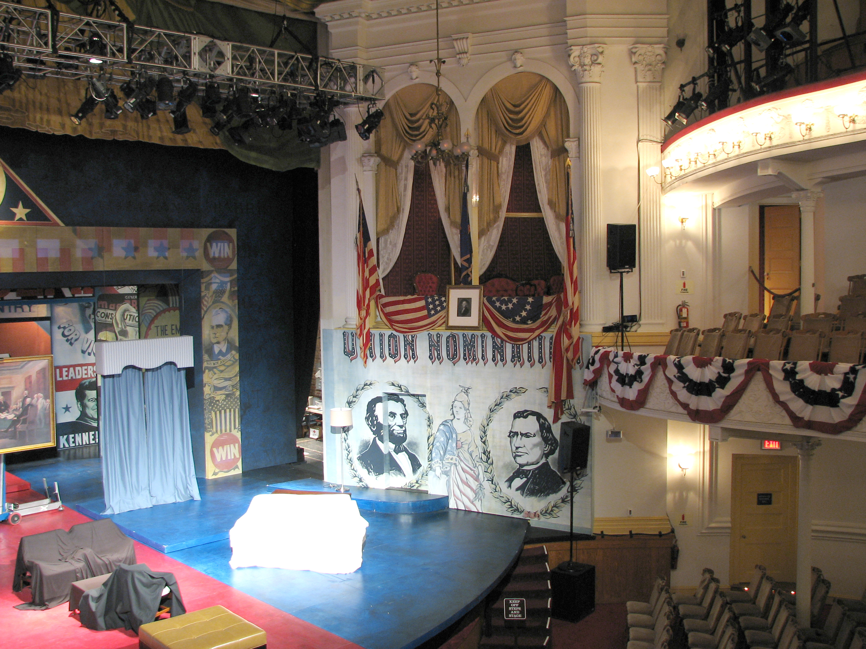 File Inside Ford S Theatre Jpg Wikimedia Commons