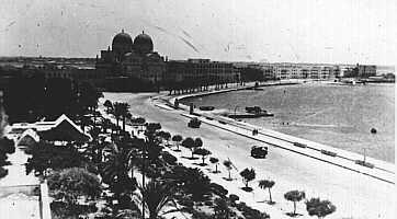 "Italian Benghazi, in which the ""Lungomare"" (sea-walk) and many other buildings were constructed. Italian Benghazi.jpg"