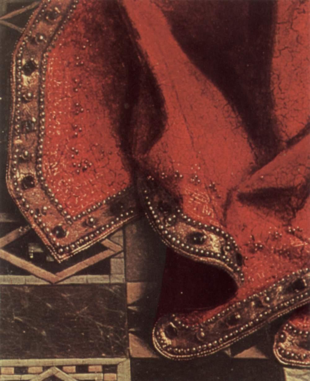 Jan van Eyck, Madonna del cancelliere Rolin (1432 circa), Louvre, Parigi