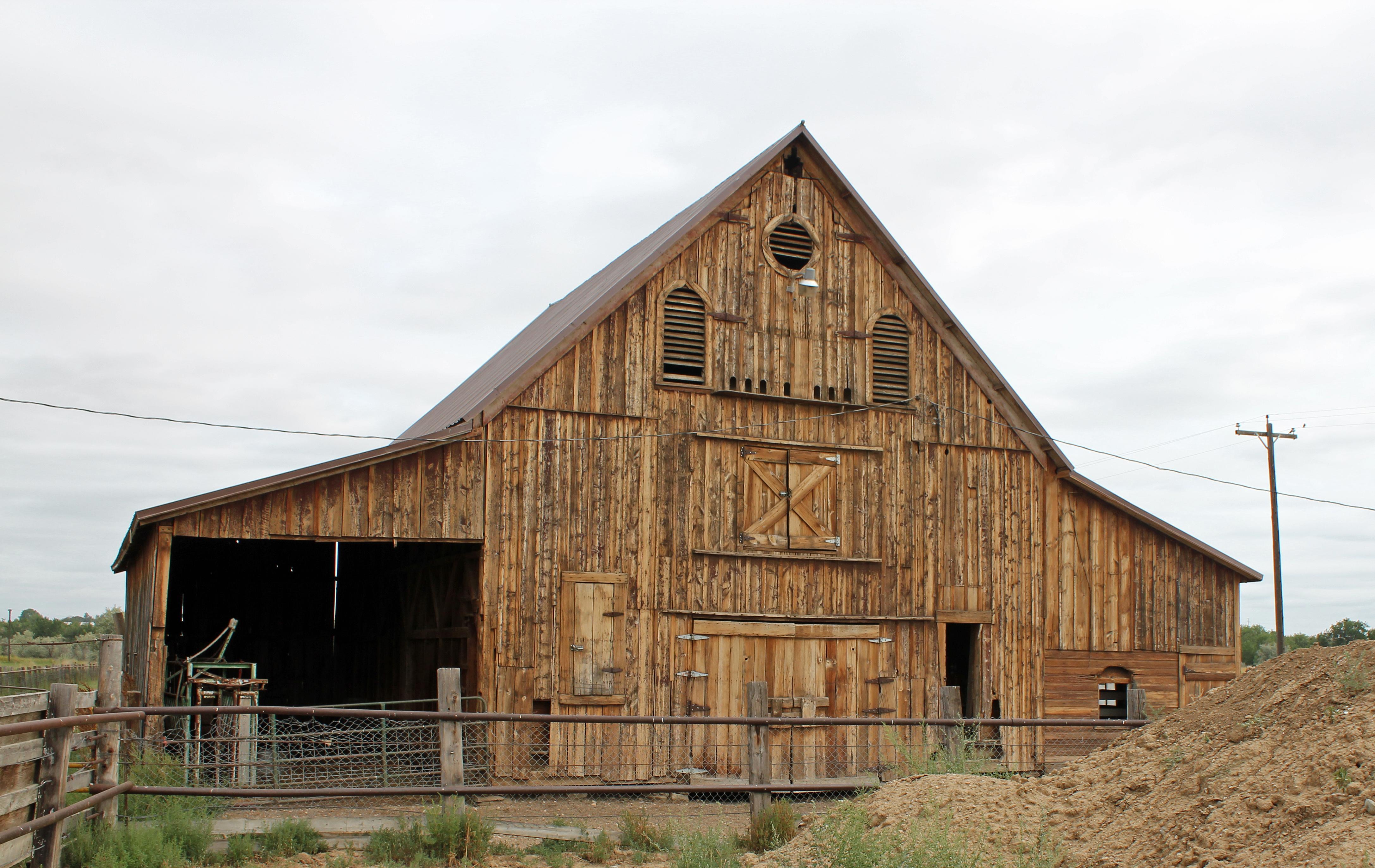 Log Home Kit Floor Plans File Jared L Brush Barn Jpg Wikimedia Commons