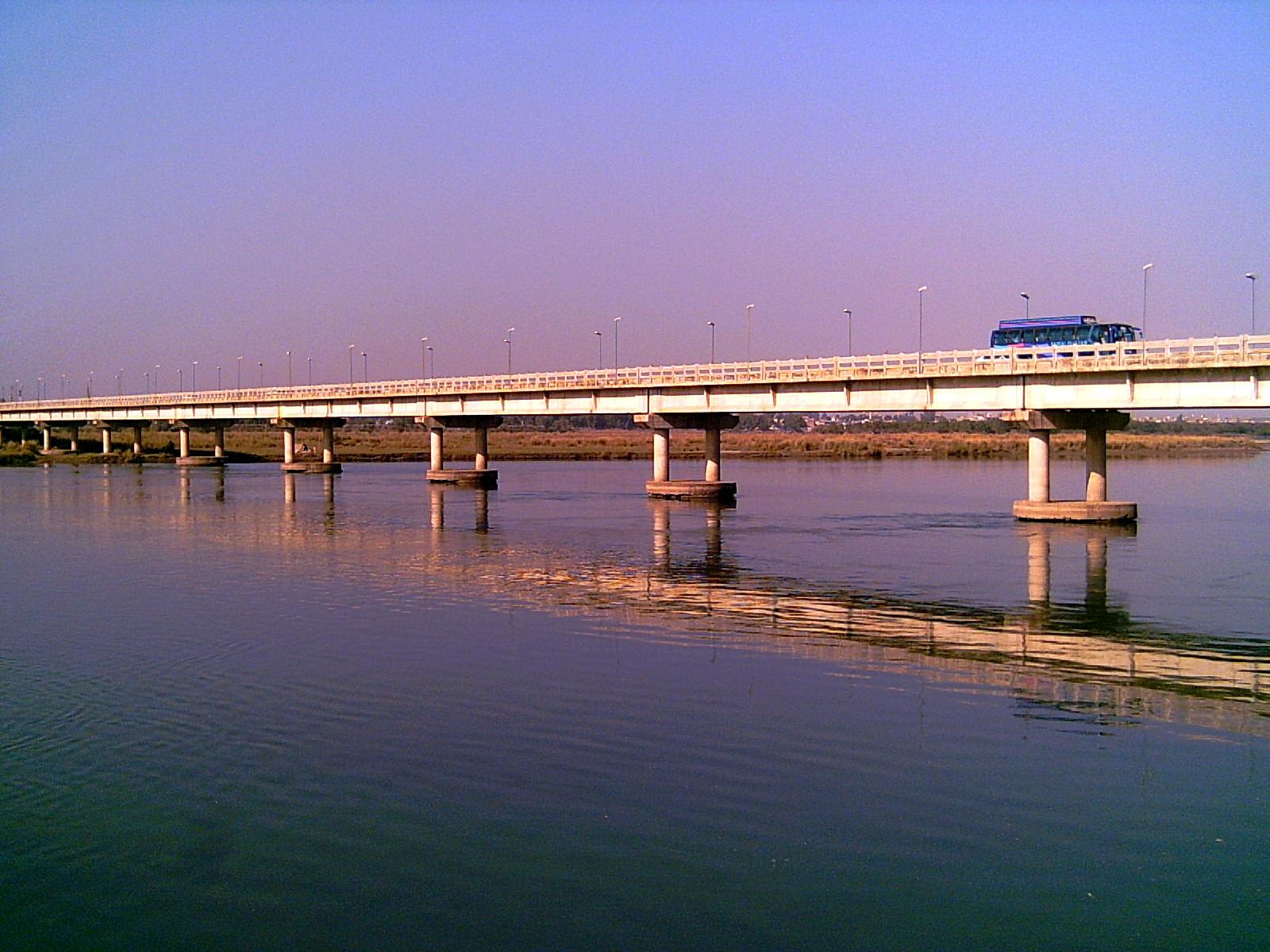bridge on the river - photo #32