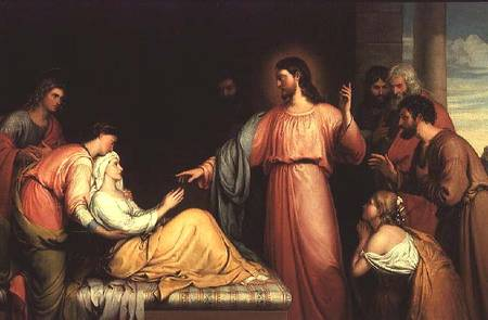 jesus healing simon peter's mother
