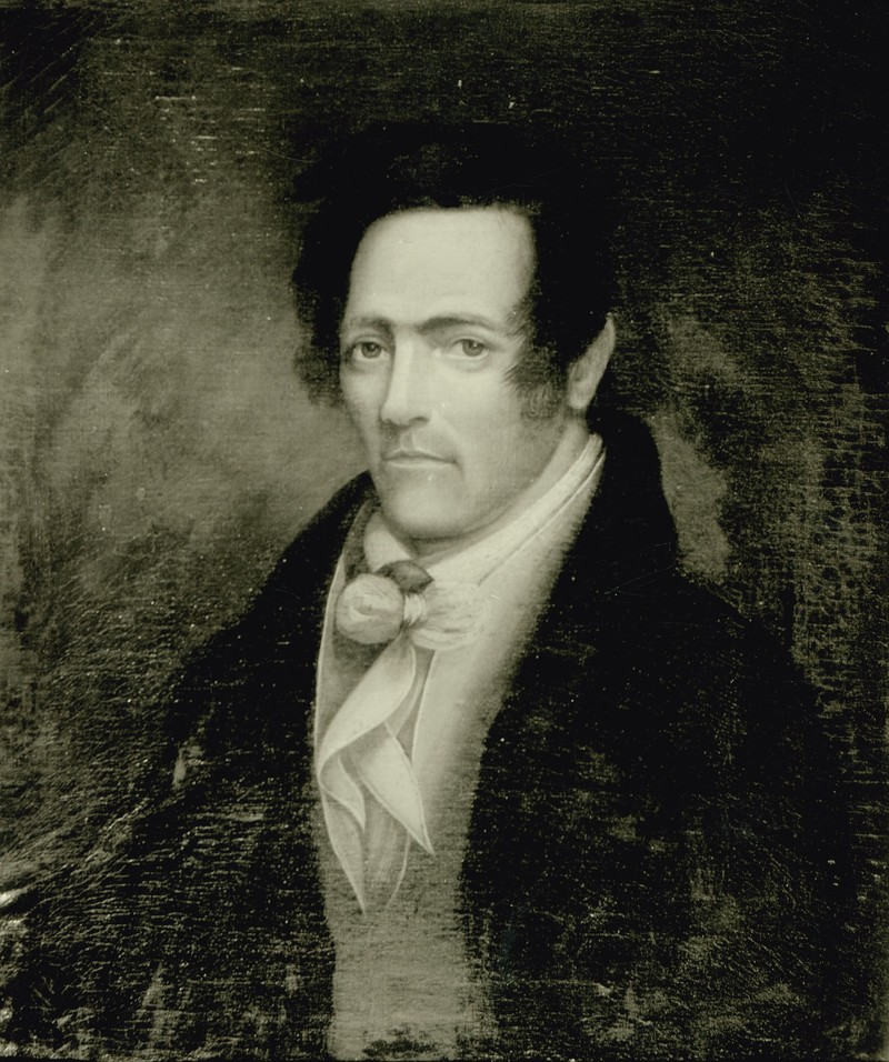 Barton, early 19th century painting (photographed)