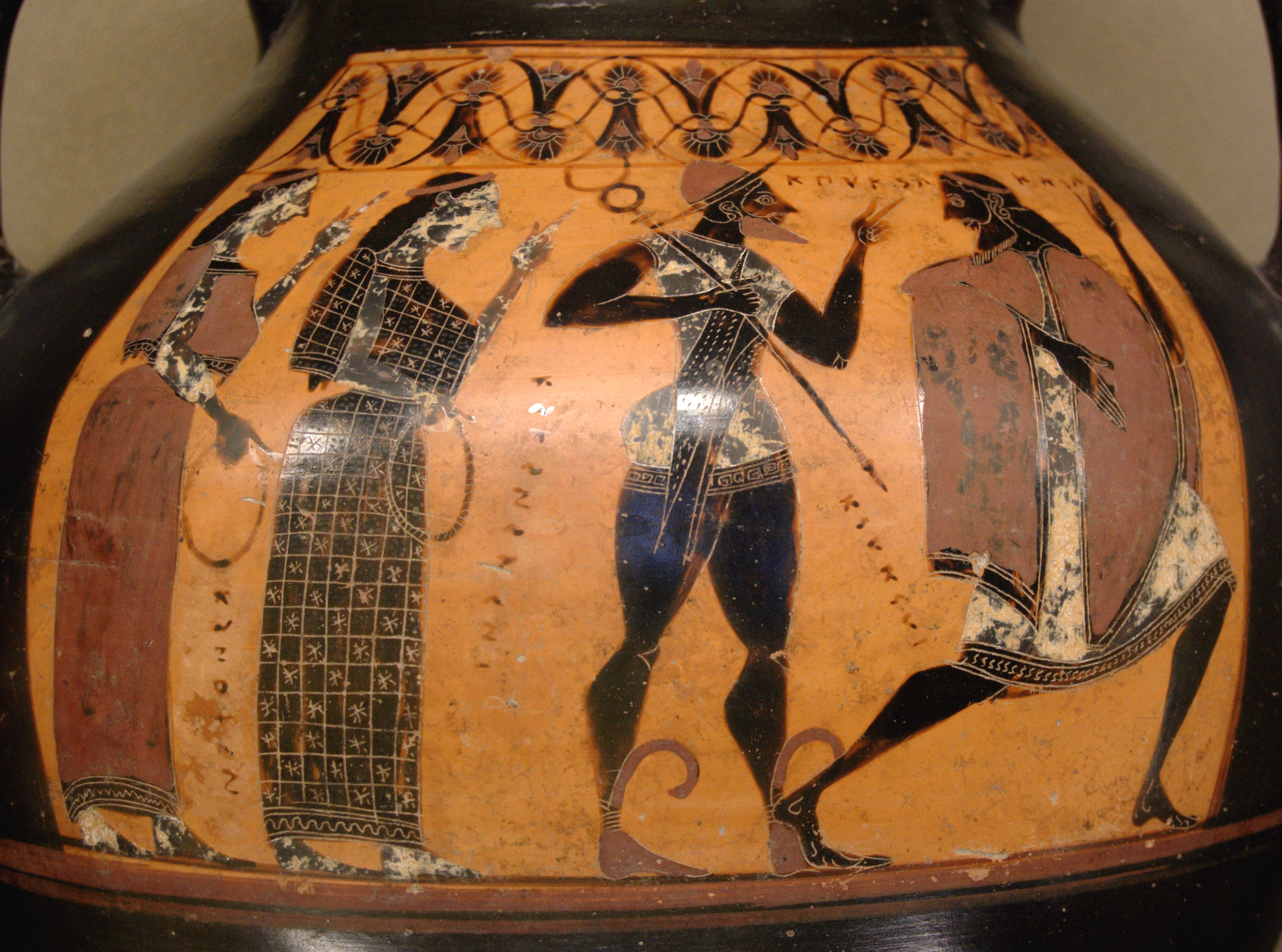 Image result for judgment of paris vase