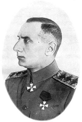 Depiction of Aleksandr Kolchak