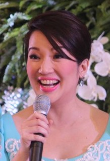 Kris Aquino Filipino talk show host, actress and producer.