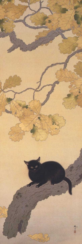 Kuroki Neko by Hishida Shunso.jpg