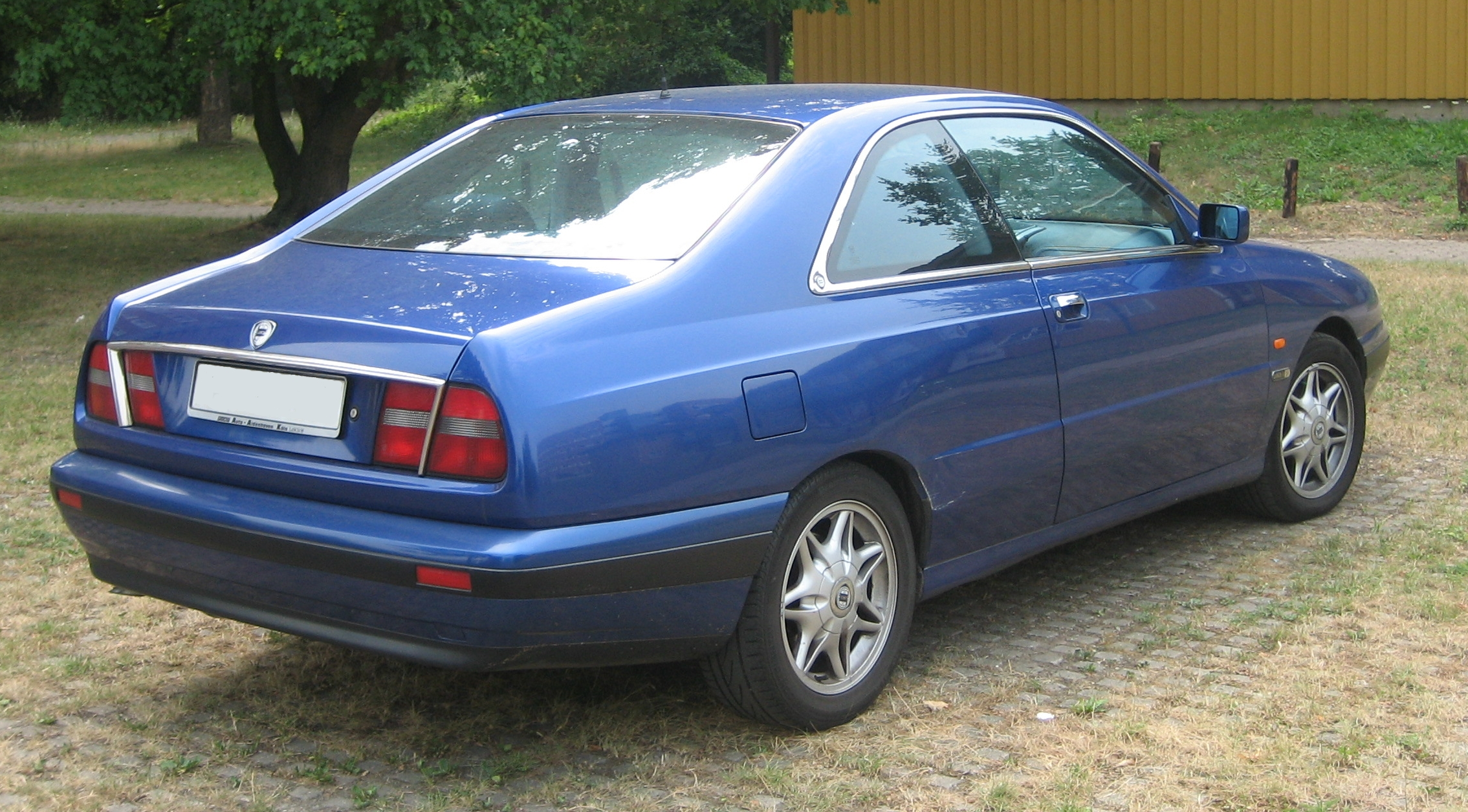 File Lancia Kappa Coupe Derriere Jpg Wikimedia Commons