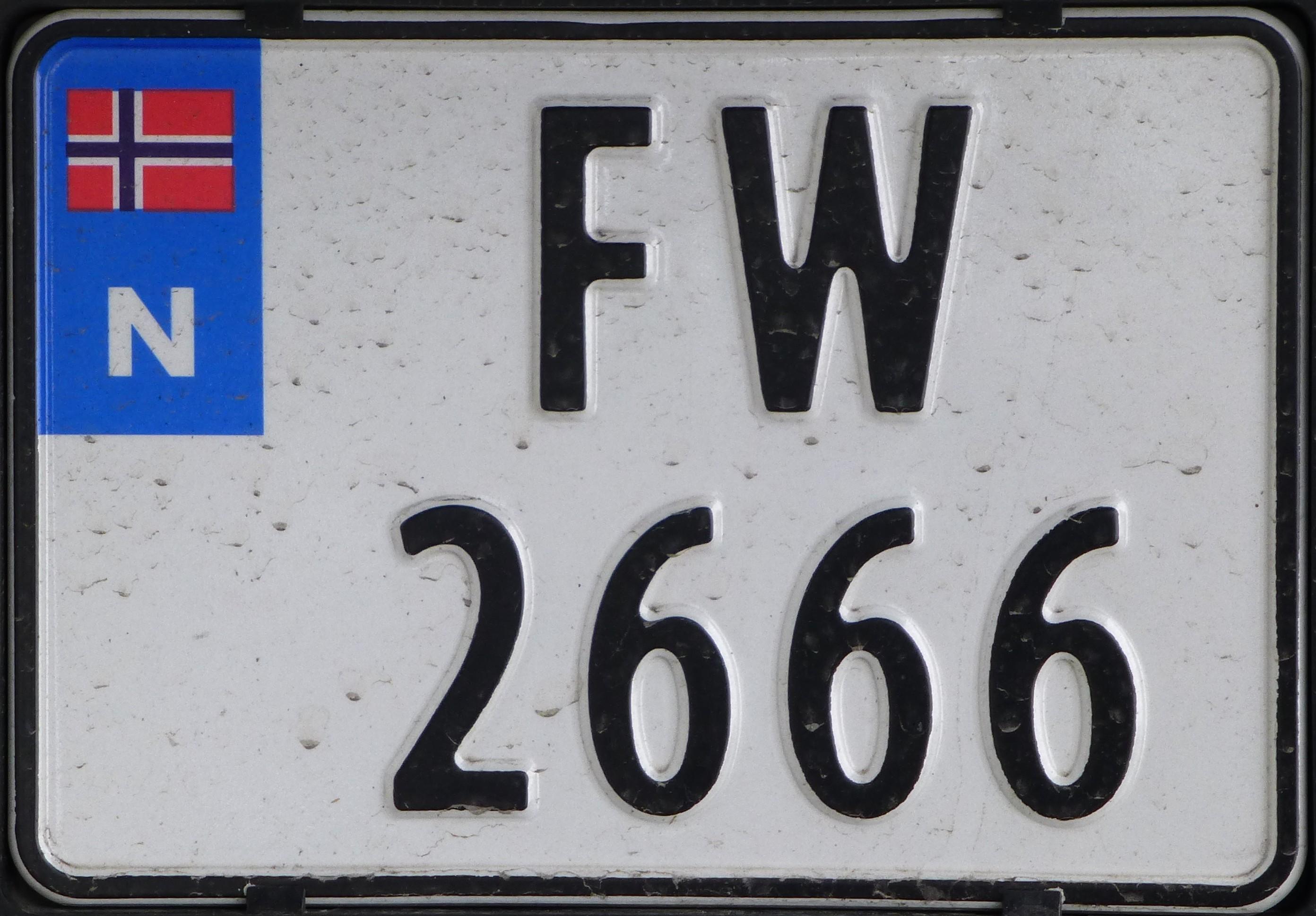 Kfz Kennzeichen Norwegen Wikipedia