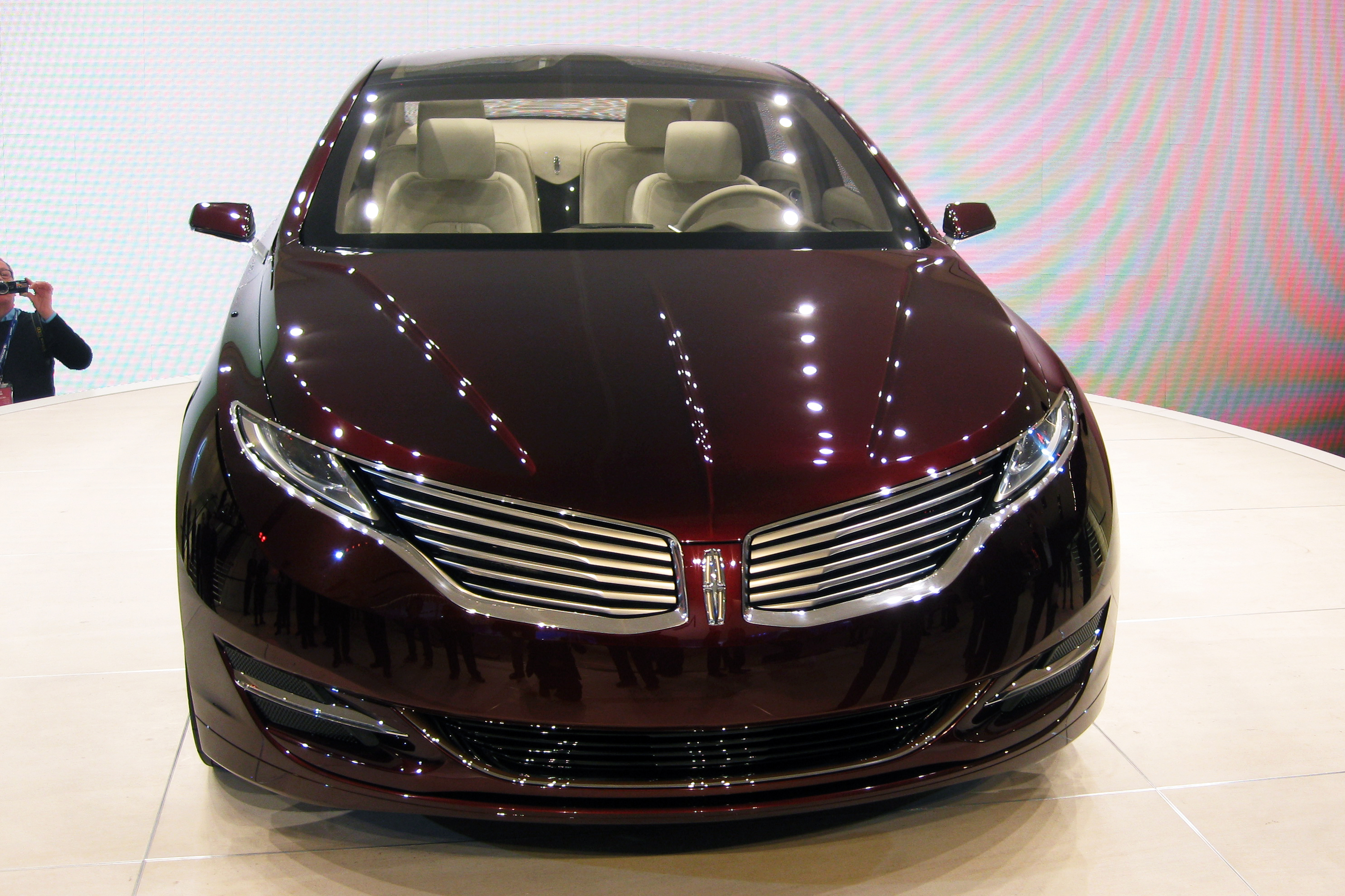 File:Lincoln MKZ concept 2012 NAIAS.jpg - Wikimedia Commons