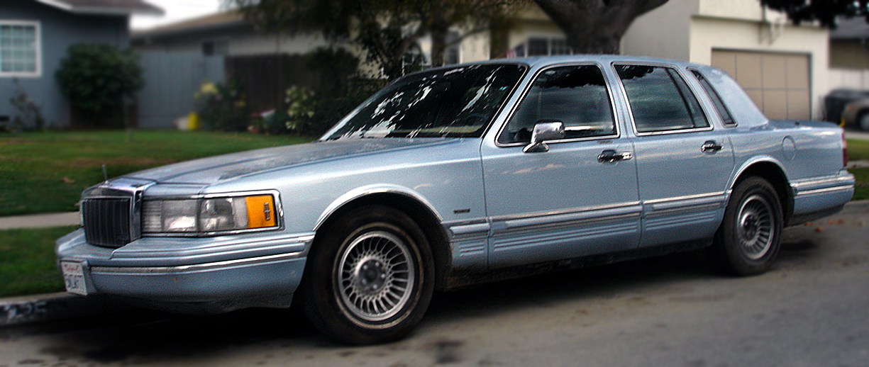 Datei Lincoln Town Car 1990 Jpg Wikipedia