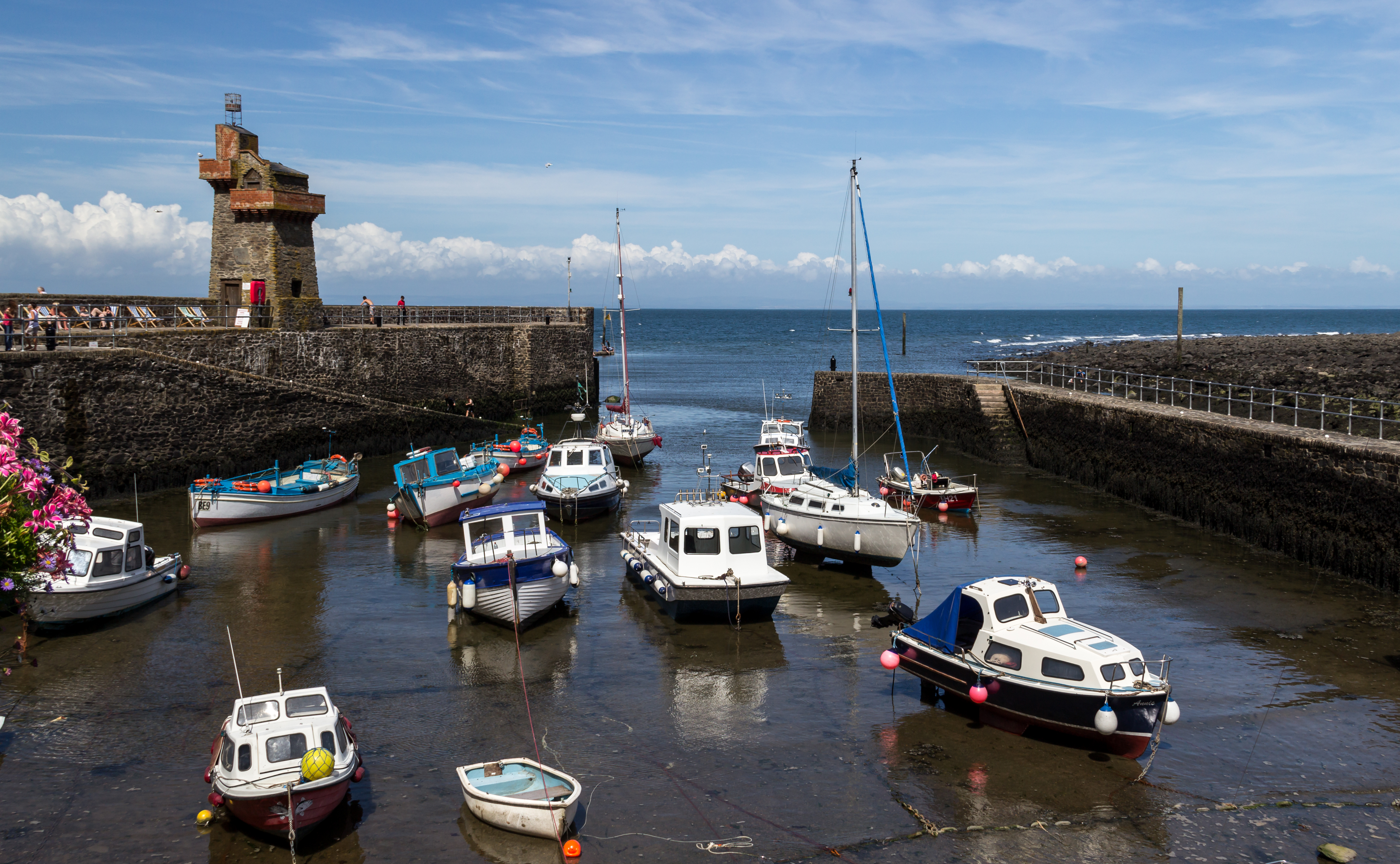 file lynmouth  devon  uk   harbour -- 2013