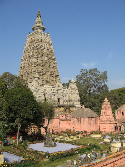 Bodh Gaya India  city photos : Mahabodhi temple. The Mahabodhi temple, Bodh Gaya, India