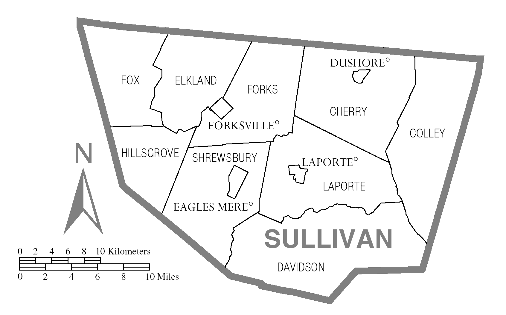 file map of sullivan county  pennsylvania png