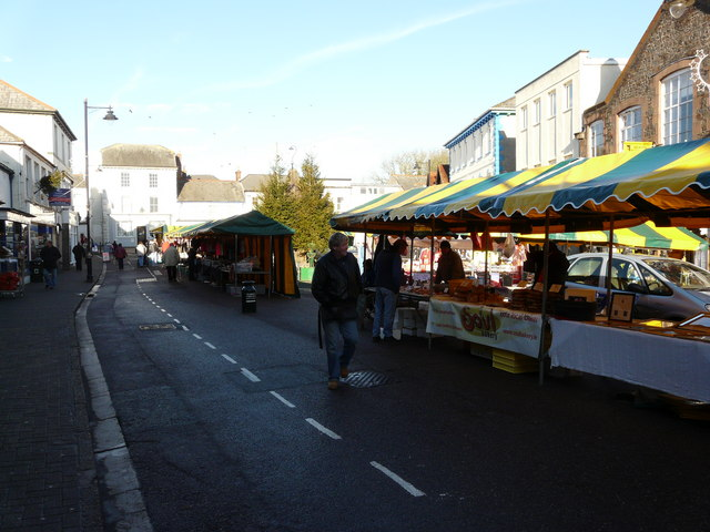Market day at Holsworthy - geograph.org.uk - 1115785