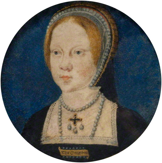 Portrait miniature of Mary Tudor, later Mary I...