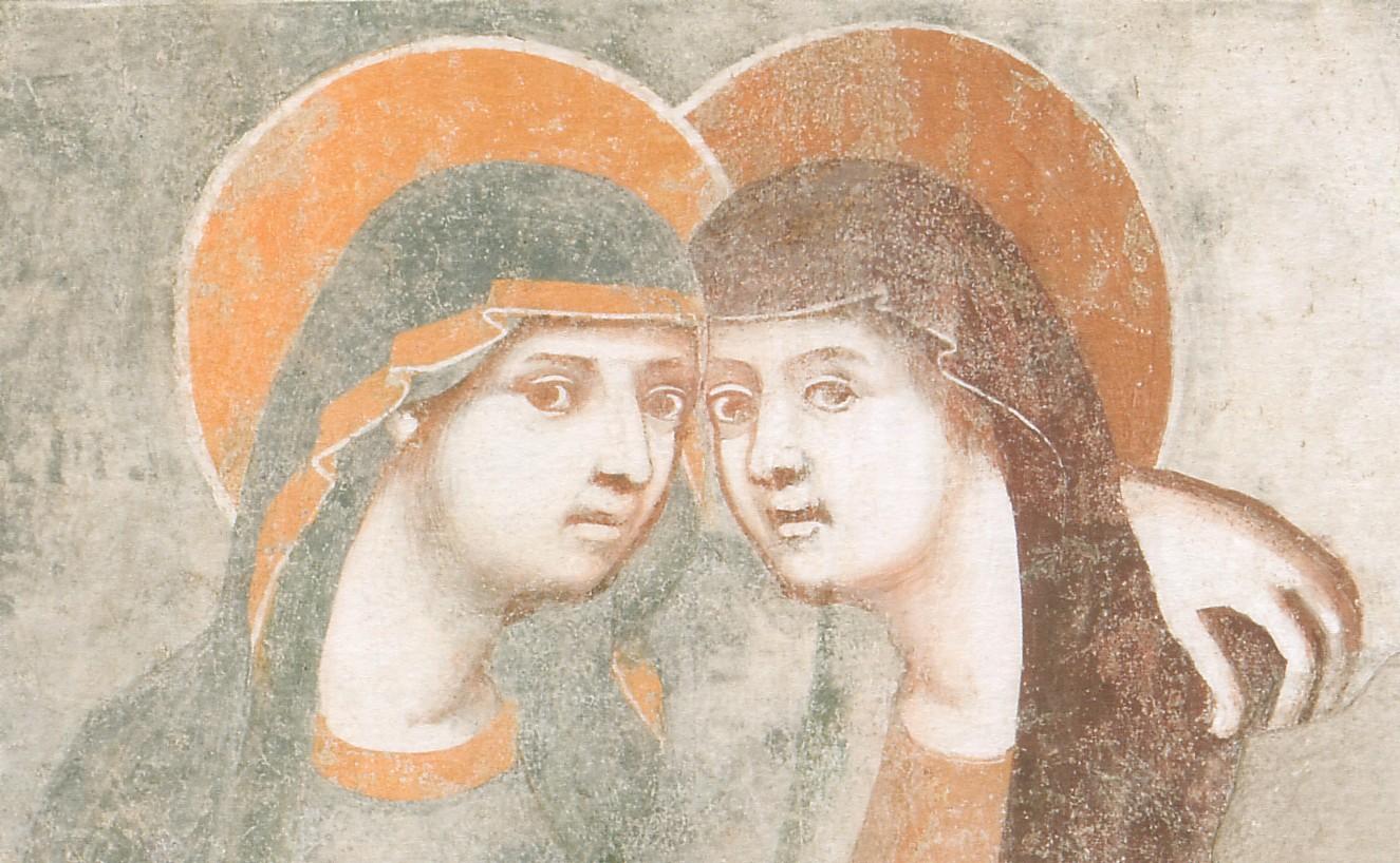 Фреска в монастыре Matris Domini, Бергамо