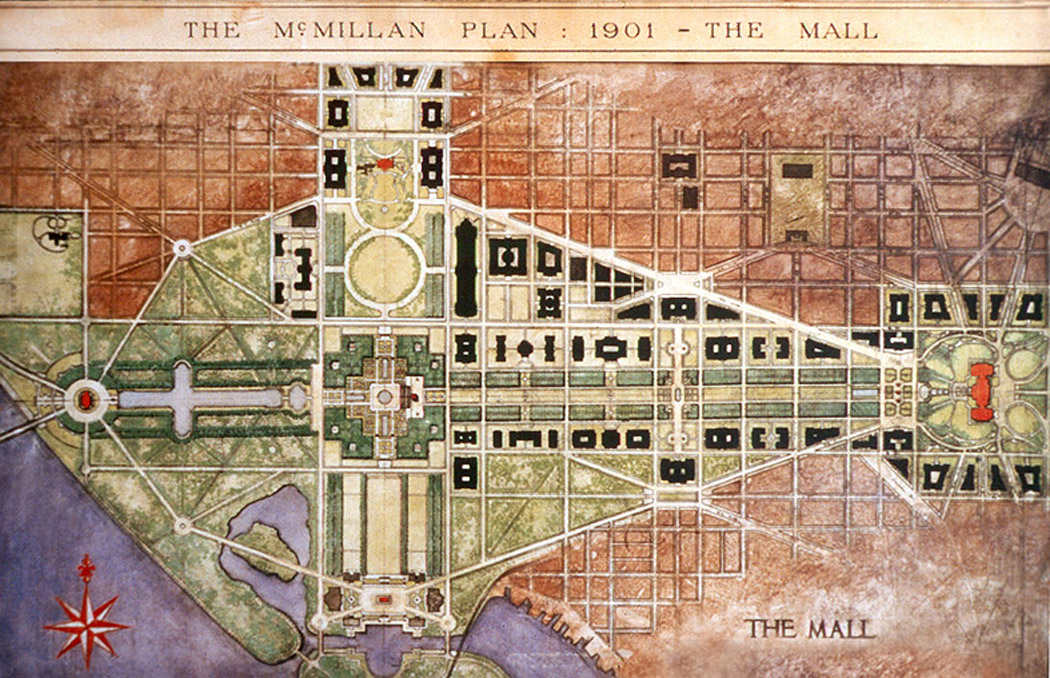 Mcmillan plan wikipedia for Who designed the basic plan for washington dc