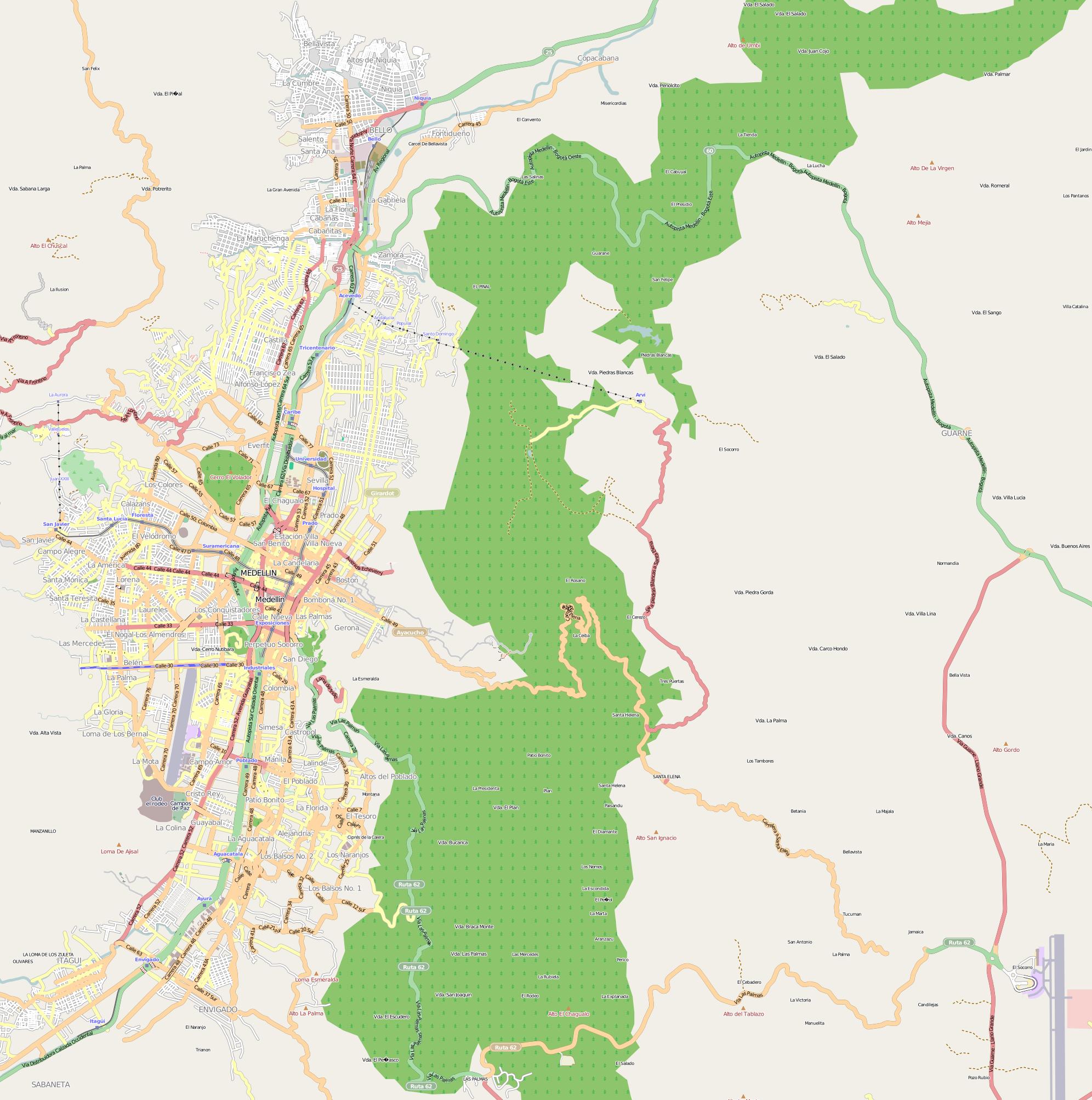 FileMedellin location mappng Wikimedia Commons