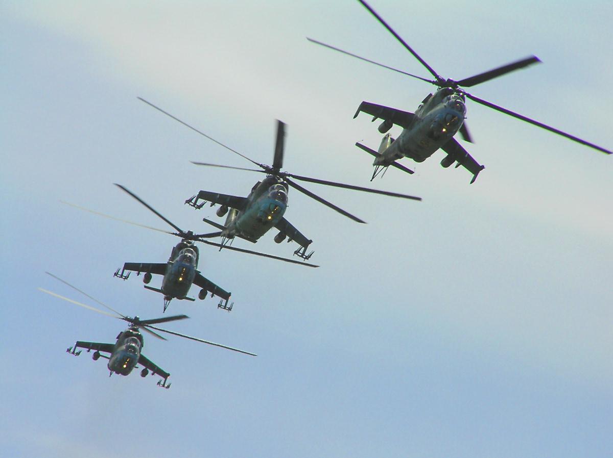 El Helicóptero Mi-24 Hind, El Carro del Diablo