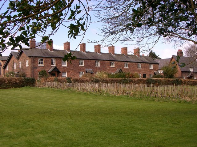 Mill Works Houses in Styal - geograph.org.uk - 734134