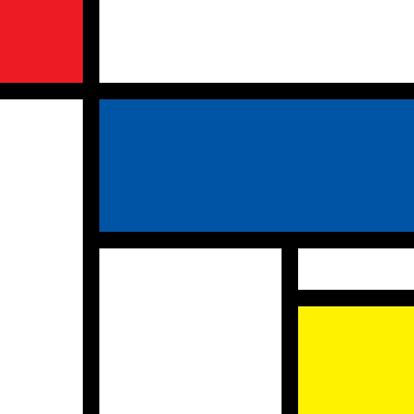 Piet Mondrian Famous Paintings