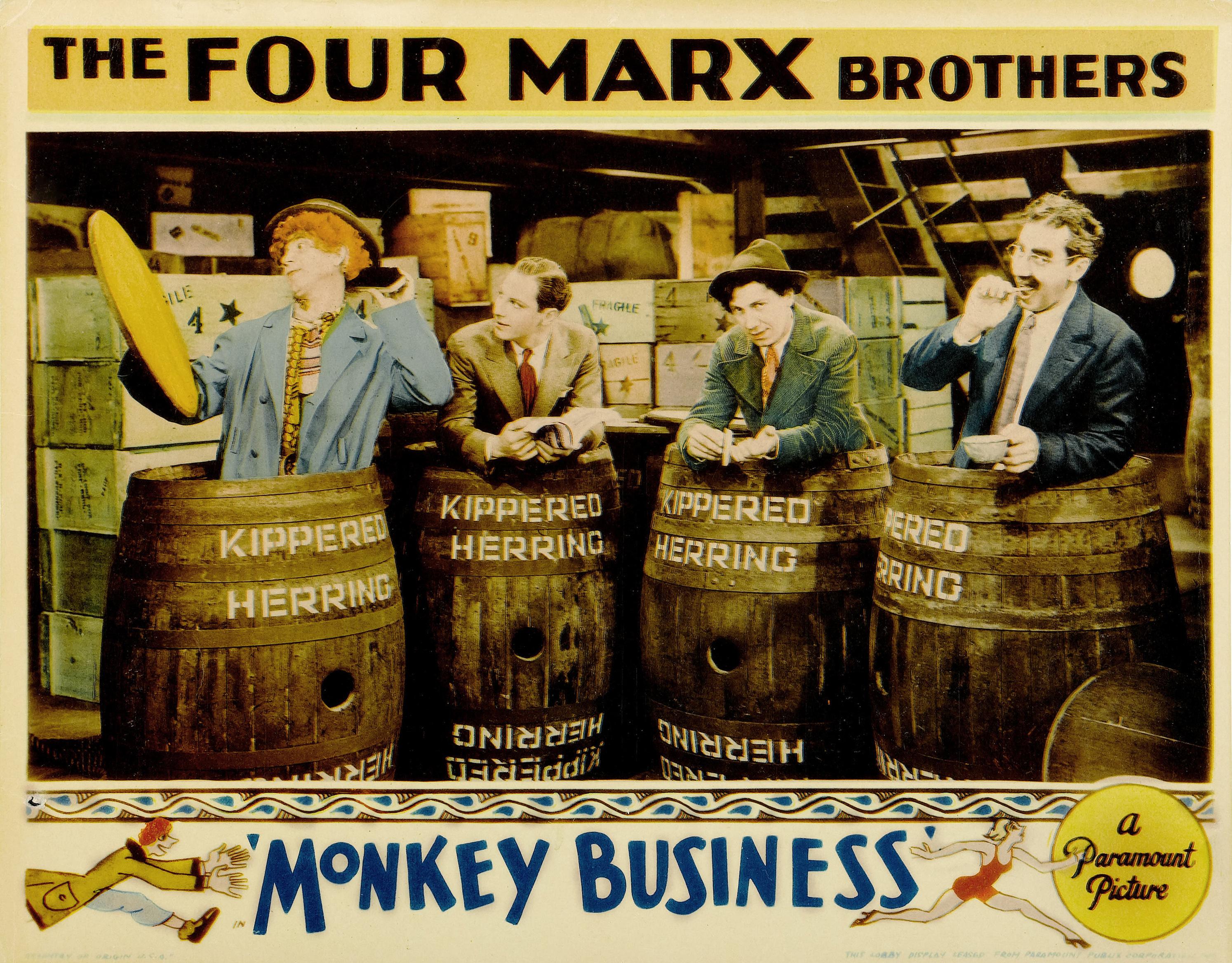 File:Monkey Business lobby card 2.jpg - Wikimedia Commons