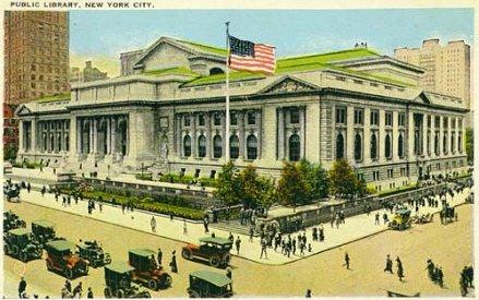 NYC Public Library postcard 1920.jpg